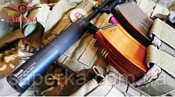 """Глушитель, саундмодератор """"Steel"""" для АКМ 7.62х39 14x1Lh Gen II, фото 2"""
