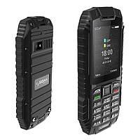 Защищенный телефон кнопочный на 2 сим карты Sigma X-treme DT68 чёрный