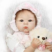Кукла реборн 55 с девочка Леночка