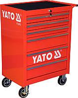 Шкаф-тележка для инструментов c 6 ящиками, YATO YT-0913