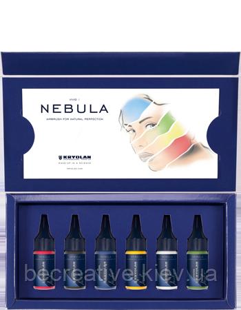 Тон Nebula VIVID SET для Airbrush в наборе