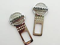 Эксклюзивная заглушка в замок ремня безопасности - Nissan (Ниссан)