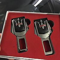 Комплект заглушек Премиум-класса логотипом автомобиля с логотипом автомобиля Maserati (Мазерати)