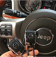 Комплект элитных заглушек в замок ремня безопасности с логотипом Jeep (Джип)