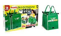 Сумка Grab Bag для покупок в супермаркете с креплениями