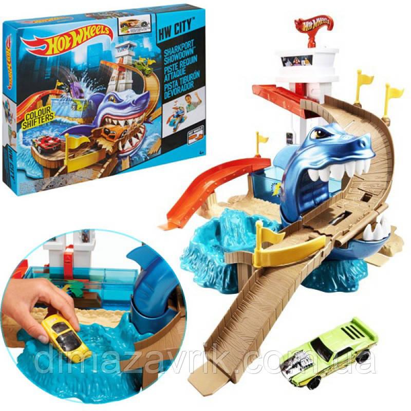 Игровой набор «Охота на акулу» Hot Wheels трек BGK04