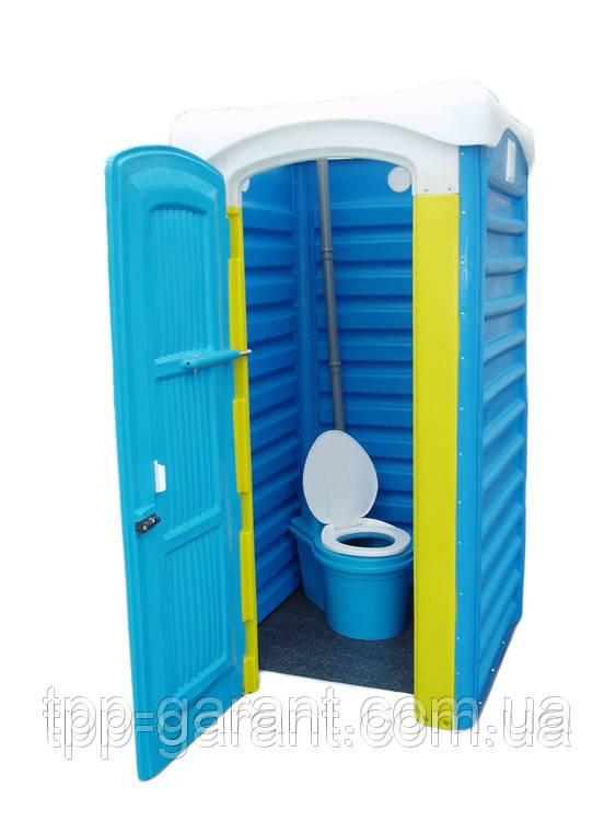 """Туалетна кабіна """"Дачна Укомплектована"""""""