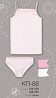 Комплект для девочки, трусики и маечка, КП 88 Бемби