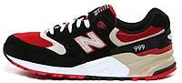 """Кроссовки New Balance 999 """"Black/Red&Tan"""" Арт. 1055"""