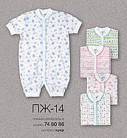 Пижама короткий рукав ПЖ 14 Бемби