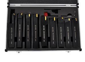 Ножи токарские 25мм, с плиткой, набор 9 шт., фото 2