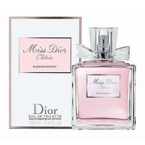 Женская туалетная вода Christian Dior Miss Dior Cherie Blooming Bouquet 100  мл - Интернет-магазин 8e6c9131f4f5e
