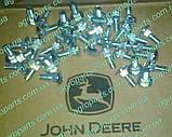 Опора AH133449 кр. редуктора МКШ FLEX Н136760 кронштейн жатки John Deere SUPPORT, W/BEARING з/ч АН133449, фото 4