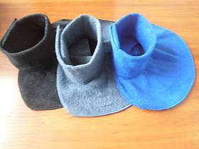 Манишки флисовые - модная замена шарфу