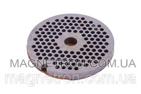 Решетка (сито) мелкая для мясорубки DeLonghi 3mm 6020070059