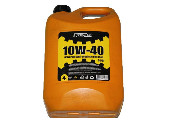 Моторное масло Кама Ойл 10W40 4л