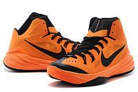 Баскетбольные кроссовки Nike Hyperdunk 2014 black-orange