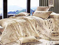 Комплект постельного белья шелковый жаккард La scala 3D-035
