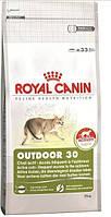 Корм Royal Canin (Роял Канин) OUTDOOR 30 для активных кошек часто бывающих на улице 0.4 кг