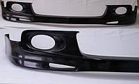 Установка, инсталяция тюнинг комплектов (накладки на передний и задний бампера + пороги)