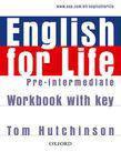 English for Life Pre-Intermediate Work Book + key