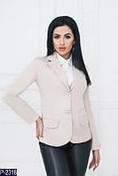 Женский пиджак (44, 46) - коттон мемори купить оптом и в Розницу в Одессе Украина 7км