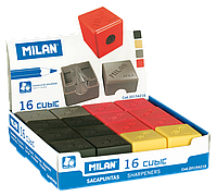 Точилка cubic rubber touch, дисплей ml.20154216