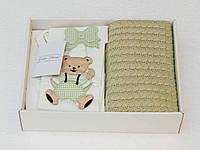Комплект постельного белья Gelin Home + вязаный плед детское