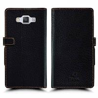 Чехол книжка Stenk Wallet для Samsung Galaxy A5 Duo Чёрный (20342)