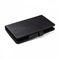 Чехол книжка Stenk Wallet для Sony Xperia Z3 Чёрный (20335)