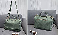 Текстильная женская черная сумка