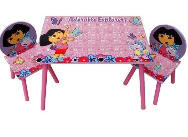 Детский стол и 2 стульчика Даша следопыт J 002-051