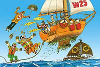 Пазлы Castorland  500шт (51274) 47*33 см (Приключения капитана Врунгеля)