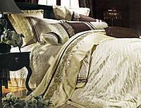 Комплект постельного белья шелковый жаккард La scala 3D-055