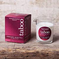 Массажная свеча - *Massage candle TABOO CARESSES ARDENTES