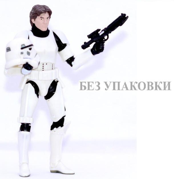 """Фигурка Хан Соло со съемным шлемом из к\ф """"Звездные Войны"""" высота 15 см"""