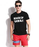 Модные мужские шорты с надписью Qike - №3800