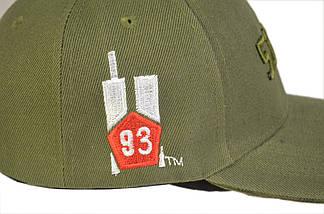 """Бейсболка тактическая 5.11 (логотип 93"""") оливковая, фото 2"""