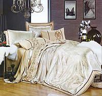 Комплект постельного белья шелковый жаккард La scala 3D-070