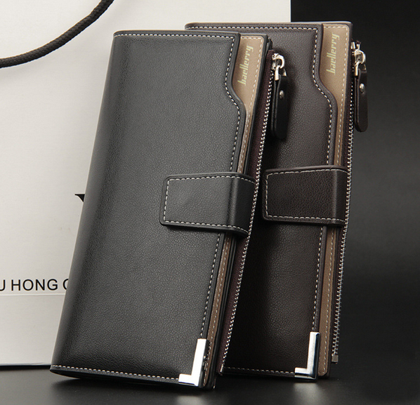 e8ed6ad5397f Мужской стильный кожаный клатч Baellerry Italia кошелек бумажник портмоне  визитница - Интернет-магазин приятных покупок