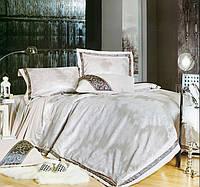 Комплект постельного белья шелковый жаккард La scala 3D-071
