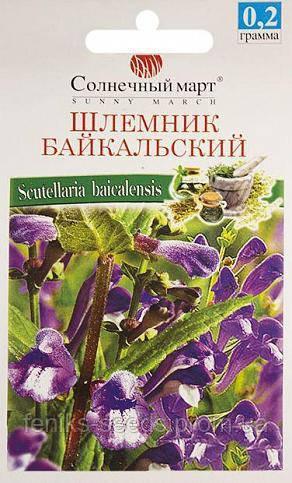 Семена Шлемник Байкальский 0,2гр Солнечный Март