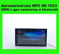 Автомагнитола MP5 SR 7023 2DIN с gps навигатор и bluetooth