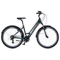 """Велосипед женский AUTHOR (2018) Victoria 26"""", рама 18"""", цвет-серый (зеленый) // серый"""