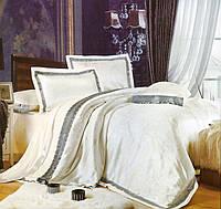 Комплект постельного белья шелковый жаккард La scala 3D-075