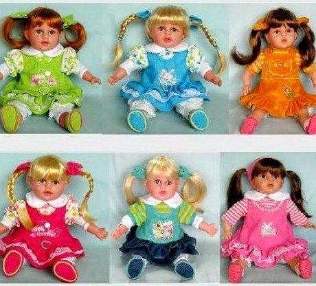 Музыкальная кукла Полинка