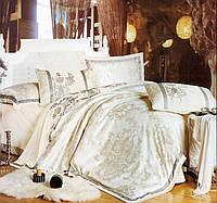 Комплект постельного белья шелковый жаккард La scala 3D-077