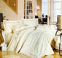 Комплект постельного белья шелковый жаккард La scala 3D-079