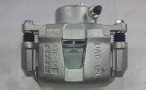 Суппорт тормозной передний левый Lacetti Лачетти для диска R14 CRB 13114131 GM 96549788