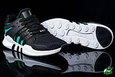 Мужские кроссовки  Nike Air Presto черно-зеленые топ реплика , фото 3